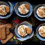 Chocolate Biscoff Buttercream Cupcakes