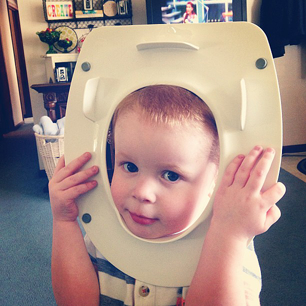 Gage potty training