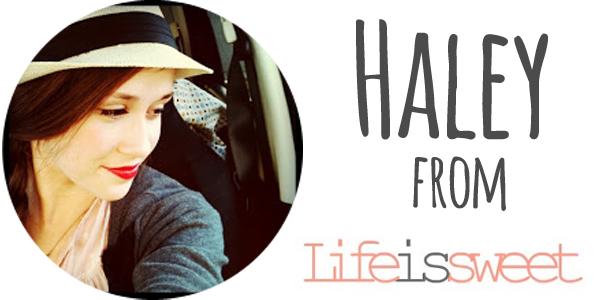 Haley life is sweet