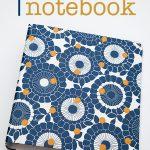 DIY Polka Dot Notebook
