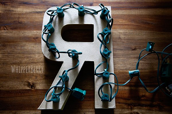 how to manage your cords for your marquee letters