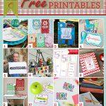 12 Free Start of School Printables
