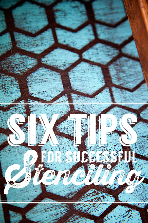 6 Tips for Painting with Stencils