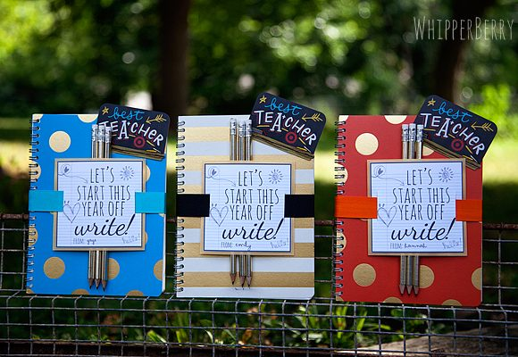 12 Free Start of School Printables // Great Teacher Gift Ideas