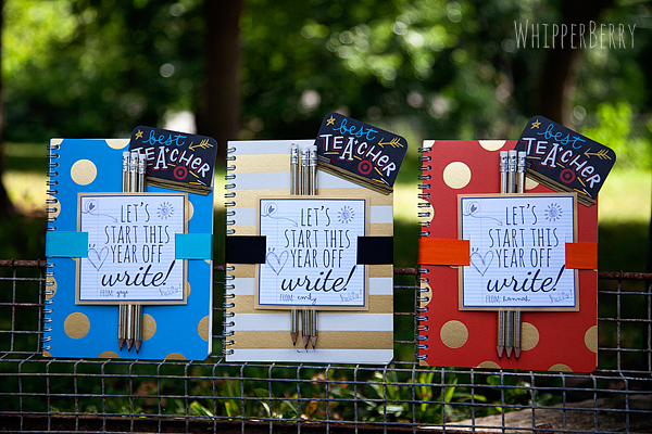 Let's Start this Year Off Write Printable from WhipperBerry #teachergifts