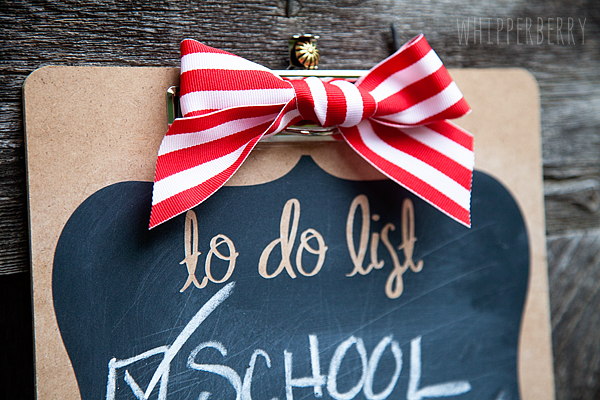 Make a fun chalkboard to do list with Silhouette Chalkboard Vinyl