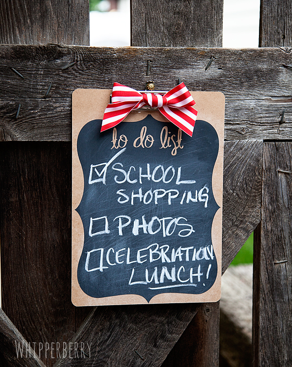 Silhouette Chalkboard Vinyl To Do List from WhipperBerry