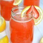 The Best Homemade Strawberry Lemonade