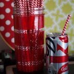 Striped Straw Jar with DecoArt Glass Paint Markers