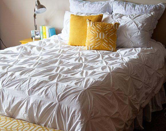 Crane & Canopy Designer Bedding Makeover