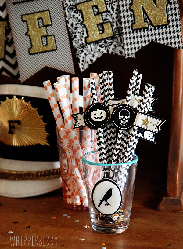 Dressed-up Straws with American Crafts