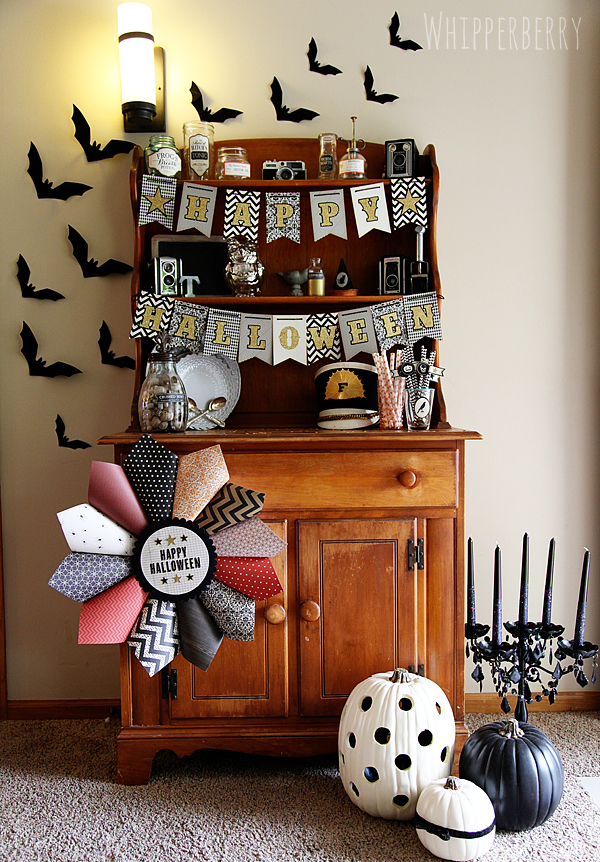 Halloween Decor with American Crafts