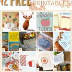 12 Fall Inspired Free Printables