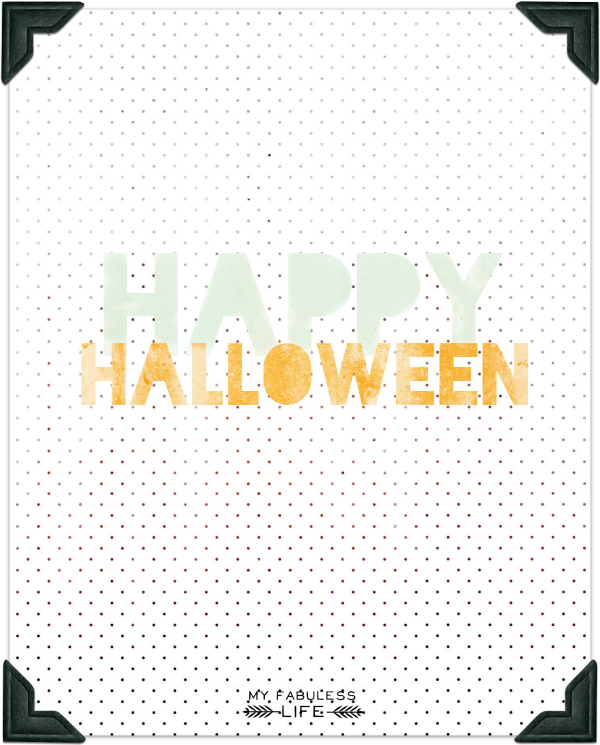happy halloween printable 2