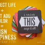 project life just add color