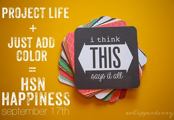 New Project Life Just Add Color Kit Perfect for Instagram