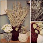 DIY Chunky Crocheted Vase Sweater