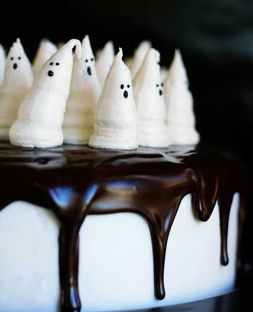 bootiful ghost cake