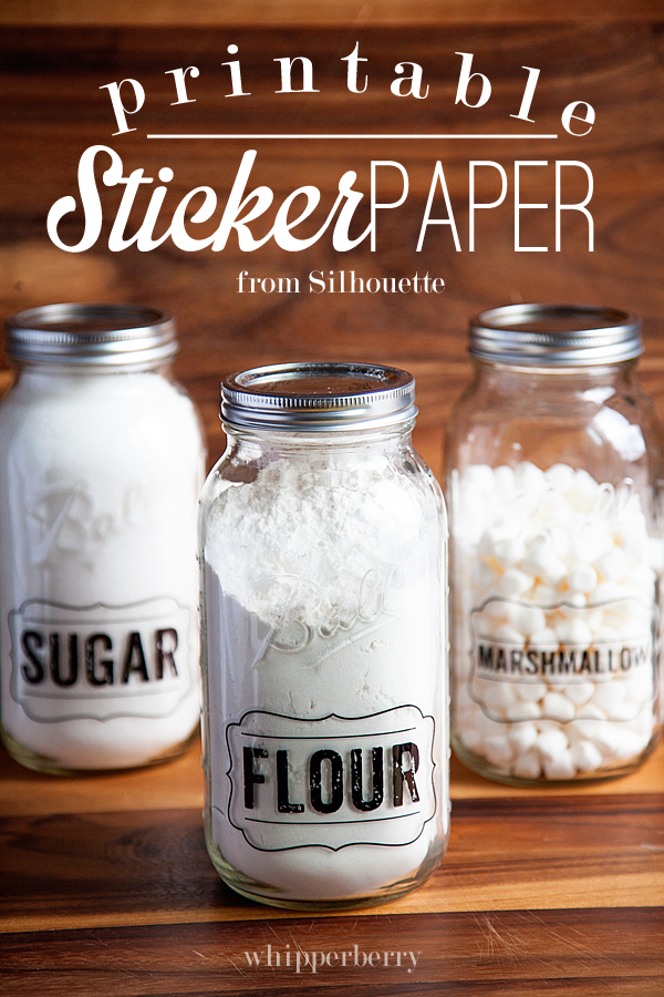 printable sticker paper from silhouette copy