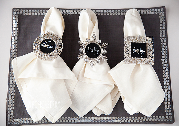 Great Personalized Napkin Rings Pictures Gallery