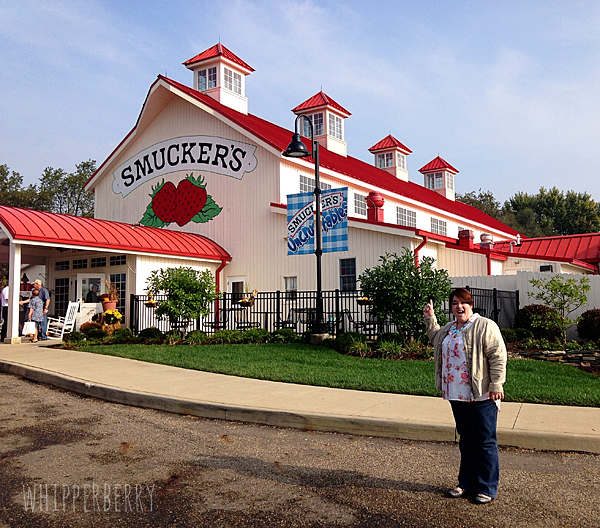 Heather from WhipperBerry at the Smuckers General Store
