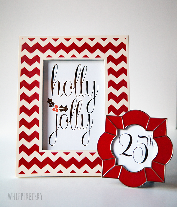 Holly Jolly Christmas Printable Along with 12 More Free Printables
