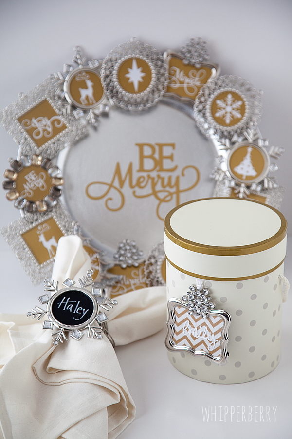 From Napkin Rings to Beautiful Wreaths, Five Festive Ornament Frame Ideas