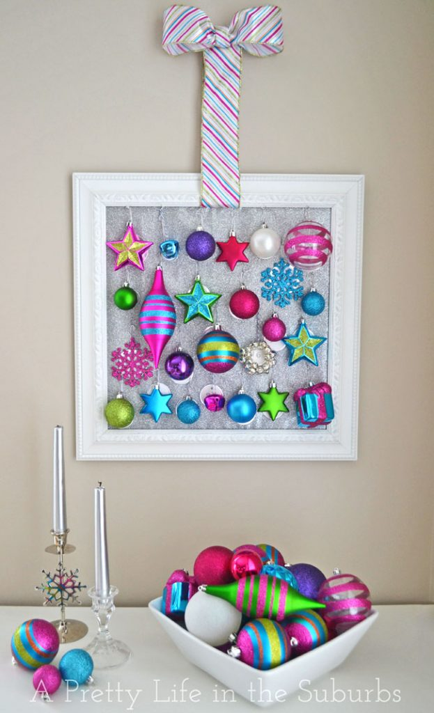 Sparkly Ornament Advent Calendar