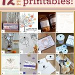 Printable Thanksgiving Bread Wraps + 12 More Thanksgiving Printables