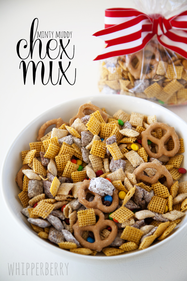 WhipperBerry Minty Chocolate Peanut Butter Chex Mix-4