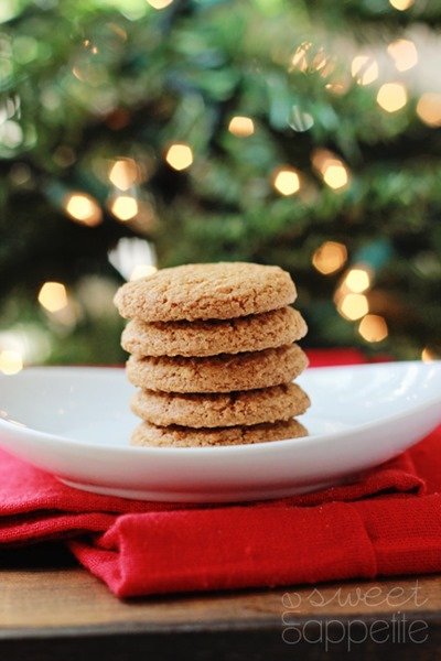 Perfect Gingersnap Cookies
