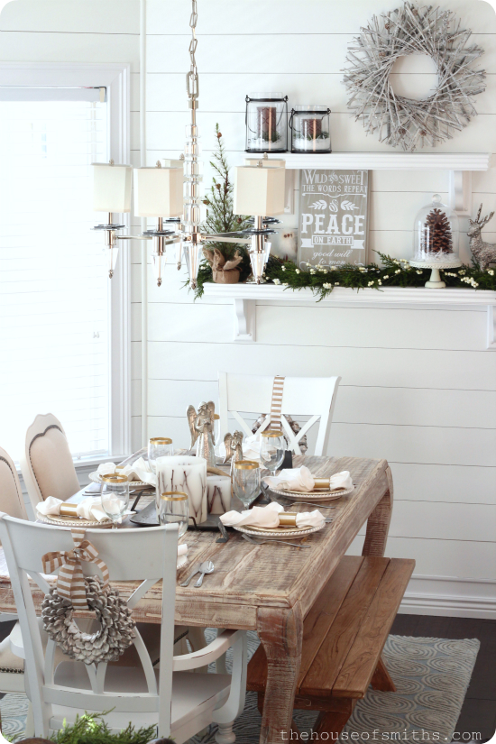Christmas Decor - Woodsy Winter Wonderland - The House of Smiths Blog