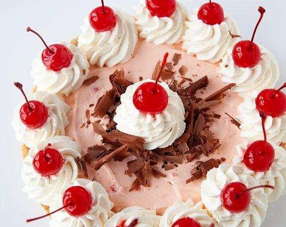 Chocolate Cherry Mousse Pie Recipe