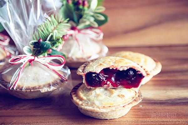 Pie Crust the Perfect Canvas // Mini Cherry Pies