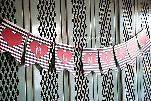 Valentine's Day Printable Banner-10