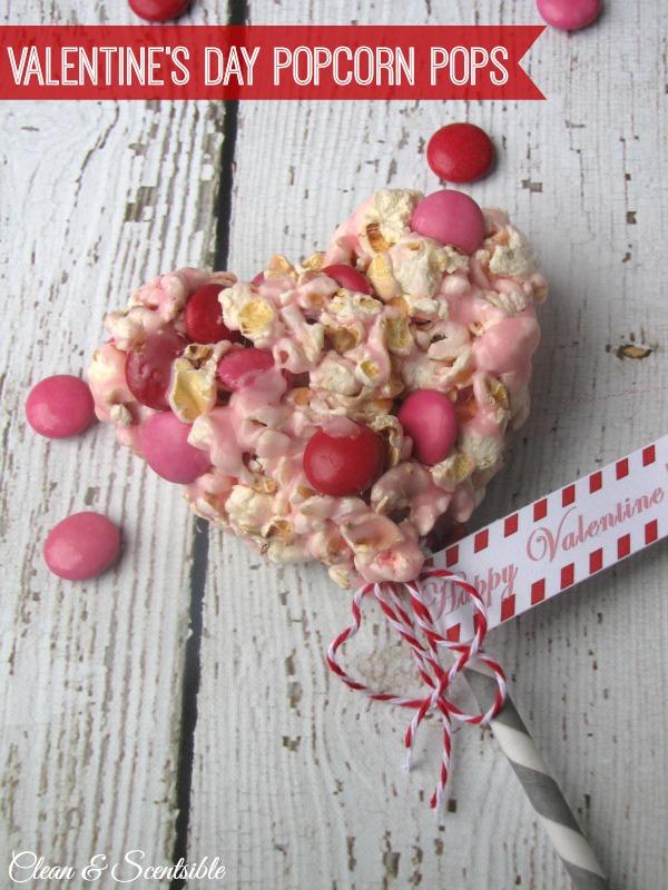 Valentine's Day Popcorn Pops