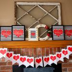 Trendy Black & White Valentines Day Printables FREE