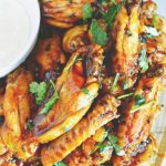 Baked Sriracha Wings