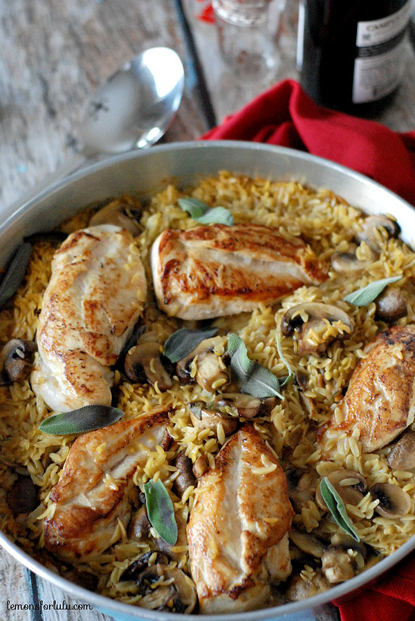 Baked-Chicken-and-Orzo