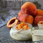 Peaches and Cream Panna Cotta