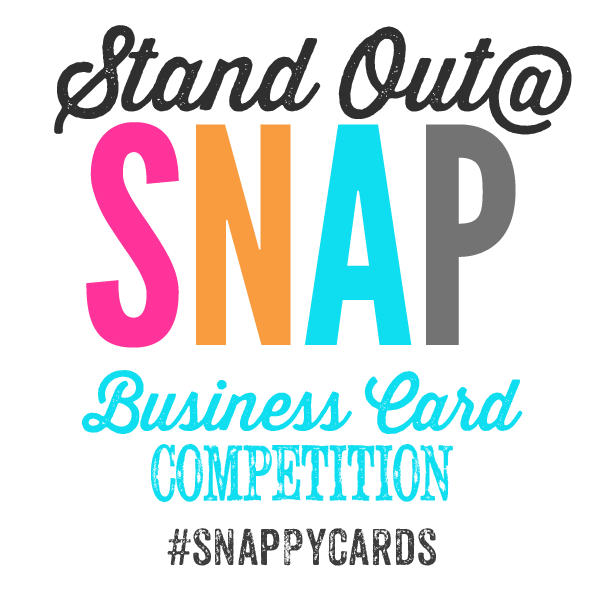 Stand out at snap business card competition snap ticket giveaway stand out at snap colourmoves