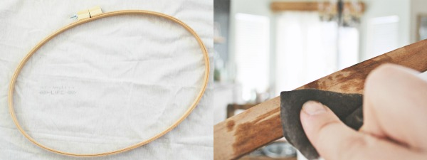 stained embroidery hoop 2