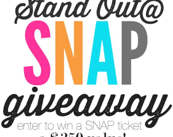 Stand Out at SNAP Business Card Competition // SNAP Ticket GIVEAWAY