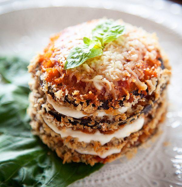 Easy Weeknight Eggplant Parmesan
