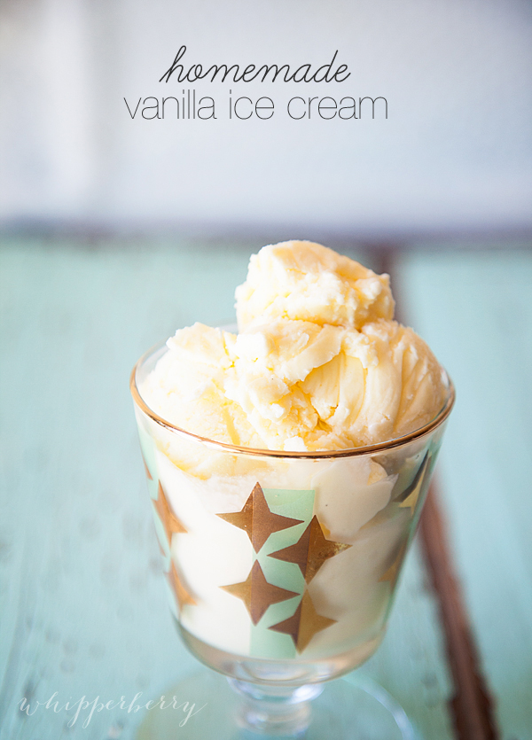 The Best Homemade Vanilla Ice Cream Recipe