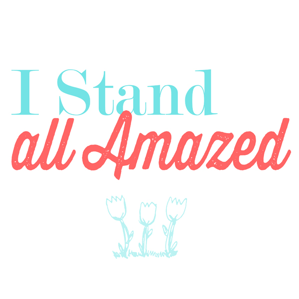 """I Stand All Amazed"" Flipchart"
