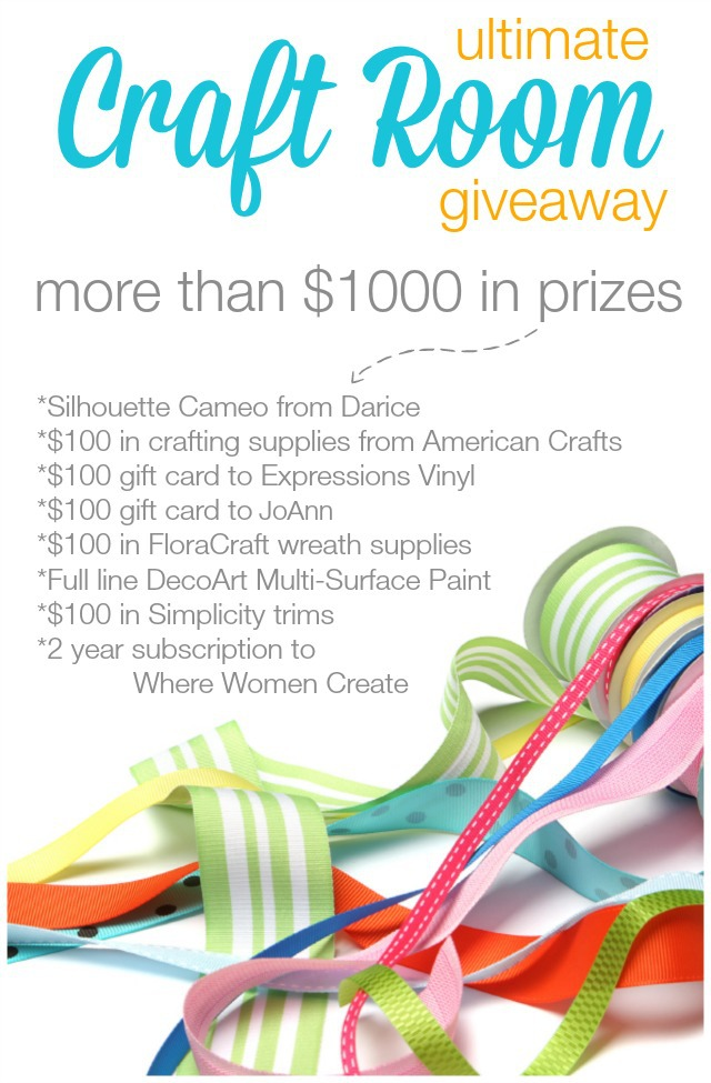 Ultimate Craft Room Giveaway-1