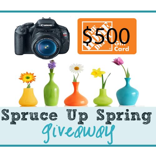Spruce Up Spring $500 Instagram GIVEAWAY
