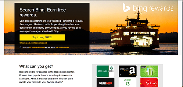 Bing Rewards // Get Paid For Your Curiosity • Whipperberry
