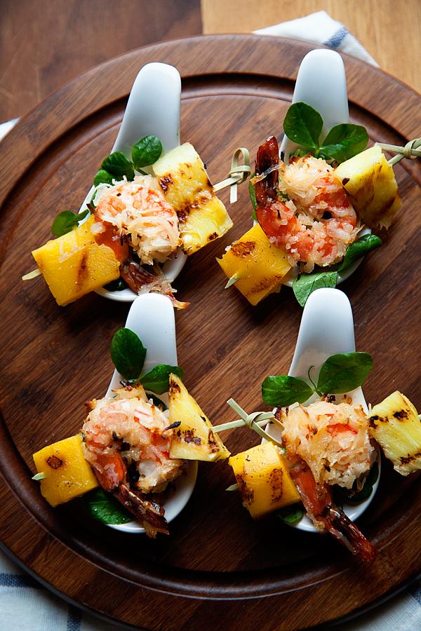 Tropical Shrimp Bites